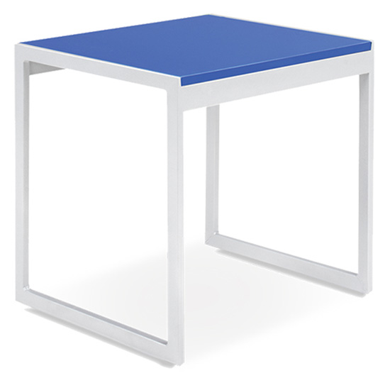 Aria End Table - Blue