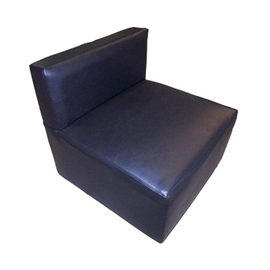 Function Armless Chair - Black
