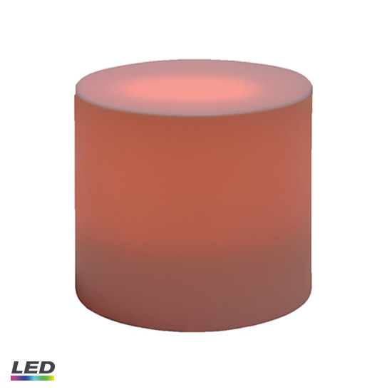 Cylinder End Table