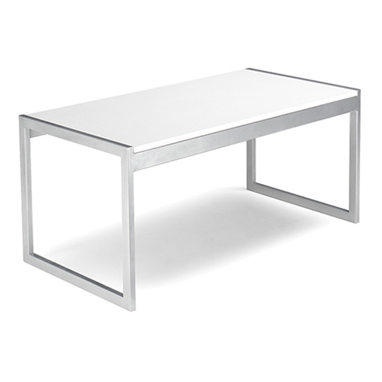 Aria Cocktail Table - White