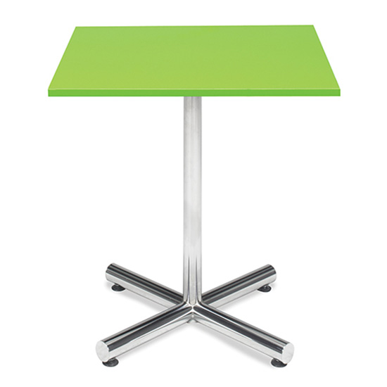 Spectrum Café Table - Green