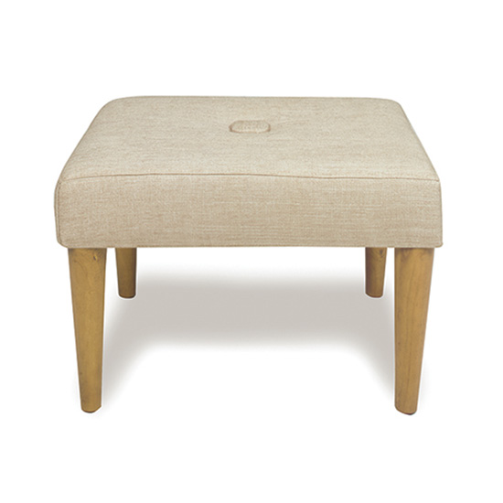 Madison Sand Dollar Ottoman